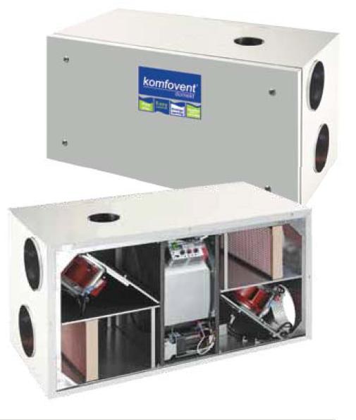 Вентиляционная установка komfovent kompakt rego 1200uhw/vw